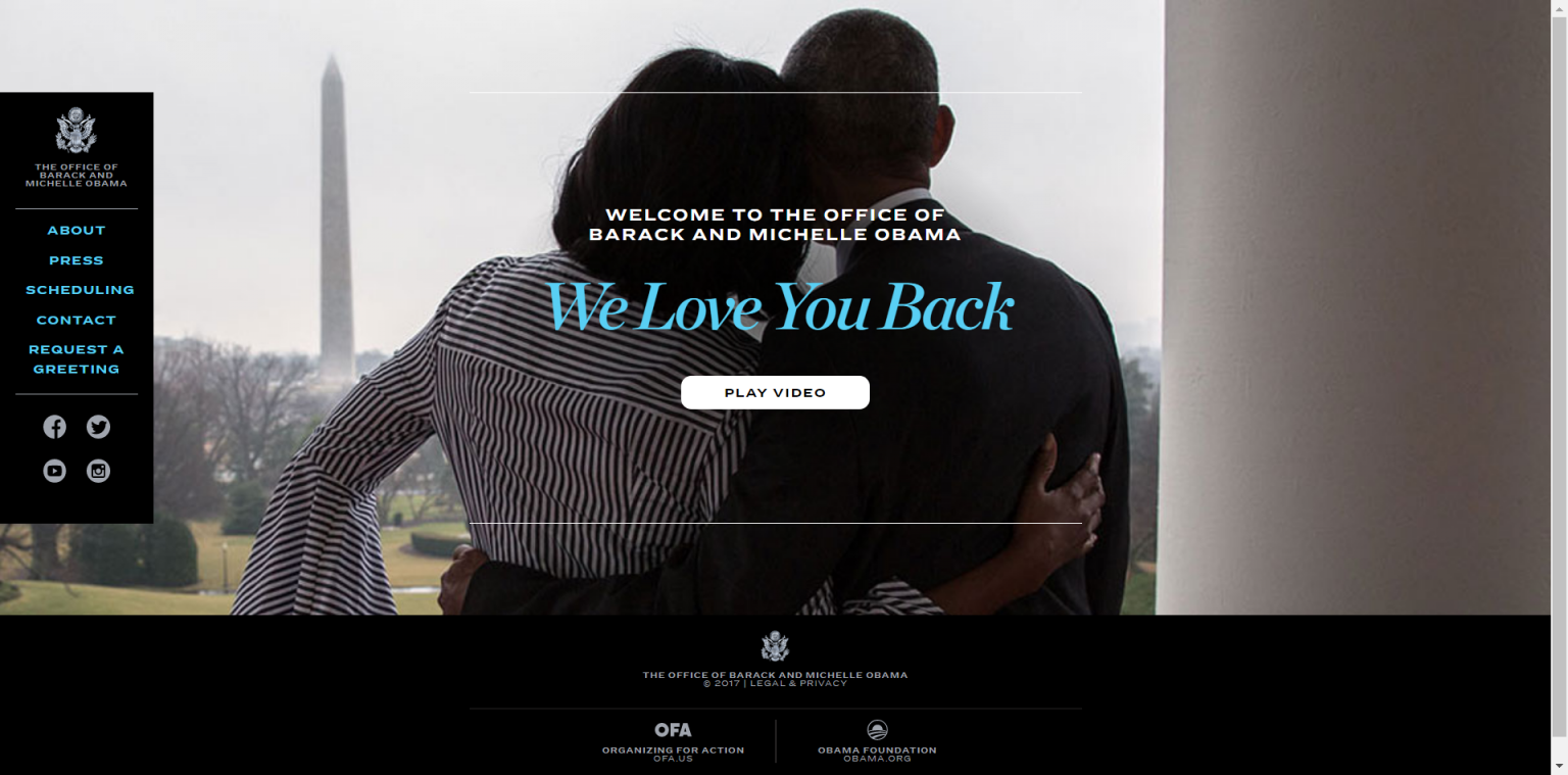 Web design archives orpical group from 2009 to 2017 they were americas number one power couple today they stick with what landed them in the white house m4hsunfo